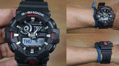 relogio casio g-shock ga700 nova linha ga700-1adr  original
