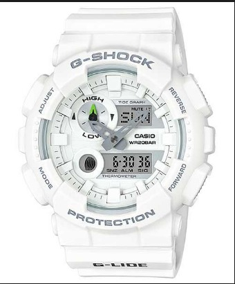 dd7cf4b9f29 Relogio Casio G-shock Gax-100a-7a Branco Original Promoção ! - R ...