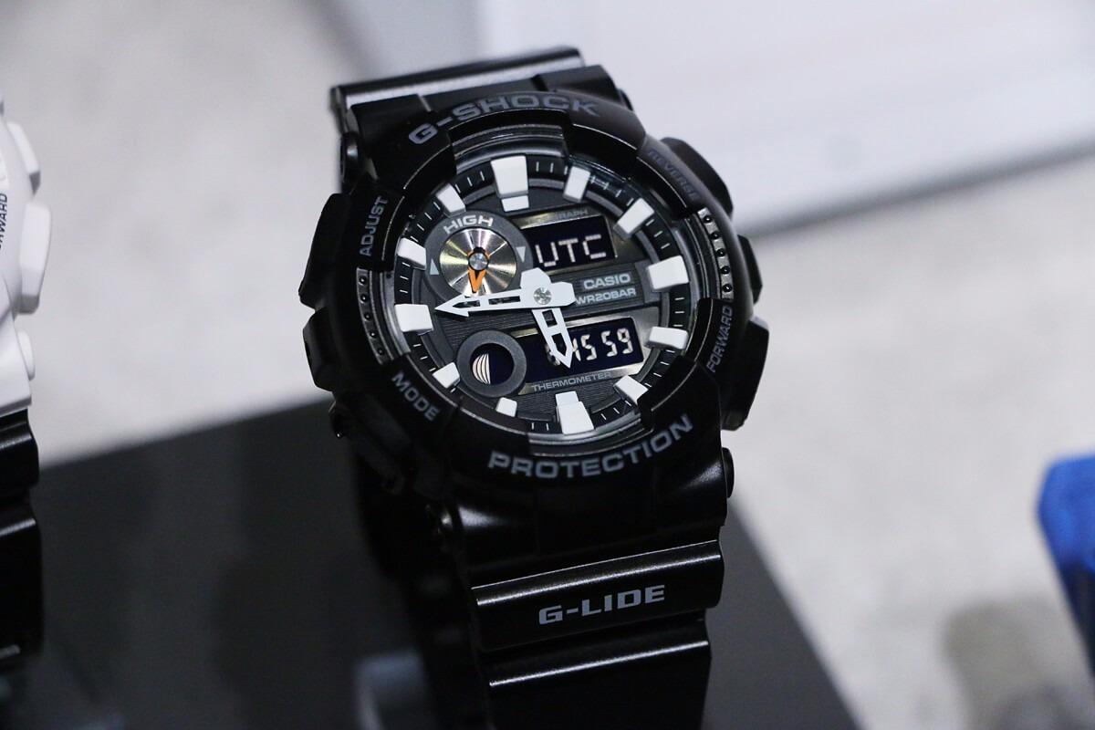 11485878045 relógio casio g-shock gax-100b-1a preto lançamento gax100. Carregando zoom.