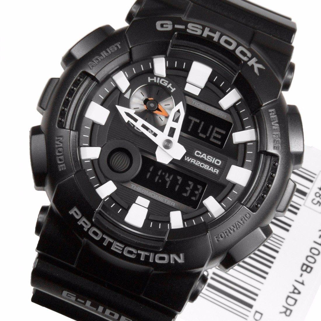 0864db40081 Relógio Casio G-shock Gax-100b-1a Preto Lançamento Gax100 - R  564 ...