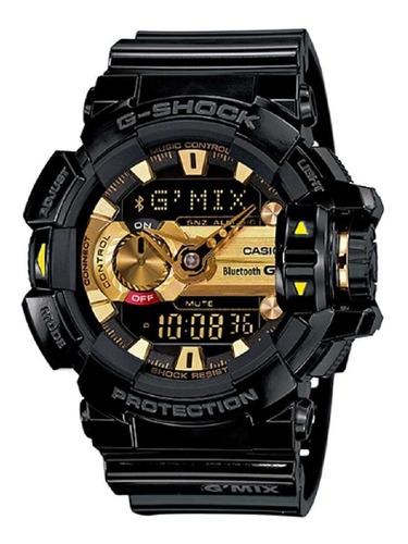 relogio casio g-shock gba-400-1a9dr gmix + nfe + garantia