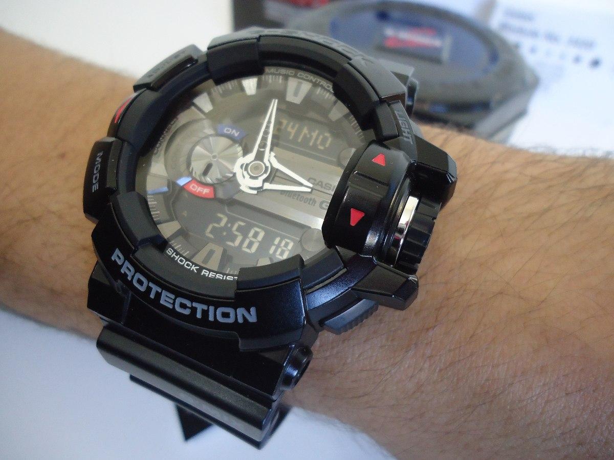 c34fe459447 Relógio Casio G Shock Gba-400-1adr G Mix Bluetooth Original - R  719 ...