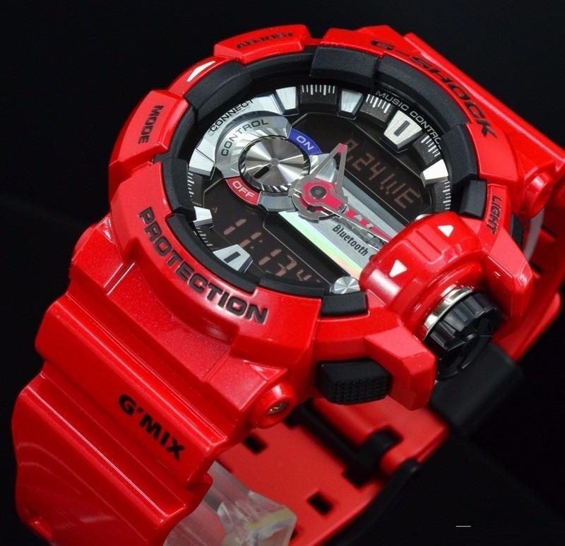 Relógio Masculino Casio G-Shock Anadigi Ga100Cm-4Adr