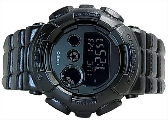 7fd7ad738aa Relogio Casio G-shock Gd-120bt-1 Gd120 Sensação Do Couro - R  497