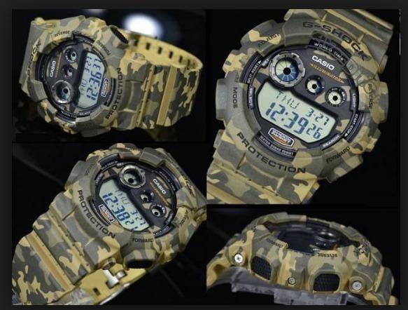 c0e8b11925b Relogio Casio G-shock Gd-120cm-5 Camuflado Promoção Em S.p ! - R ...