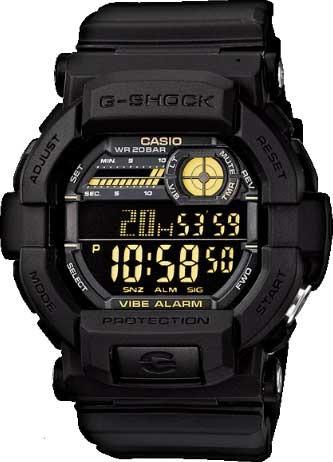 relógio casio g-shock gd-350-1bdr *vibration
