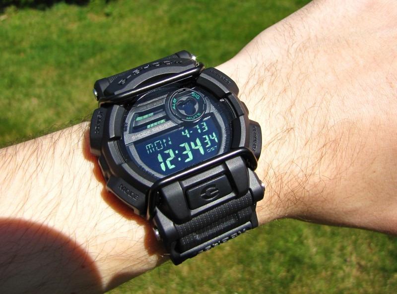 09c1ba16ff1 relogio casio g-shock gd-400mb-1dr military black. Carregando zoom.