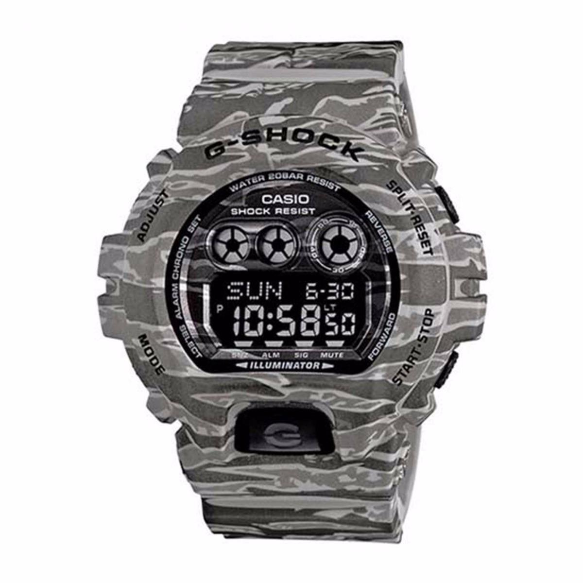2e43d1ffe4c relógio casio g shock gd-x6900cm-8dr digital camo original. Carregando zoom.