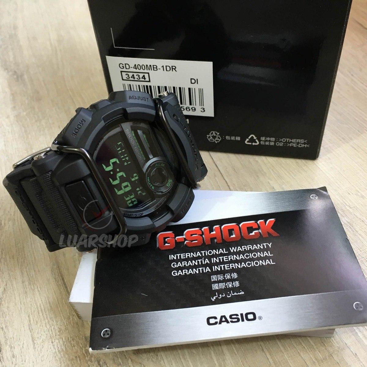 Relogio Casio G Shock Gd400mb Digital Original C Nf R 55999 Em Gd 400mb 1dr Carregando Zoom