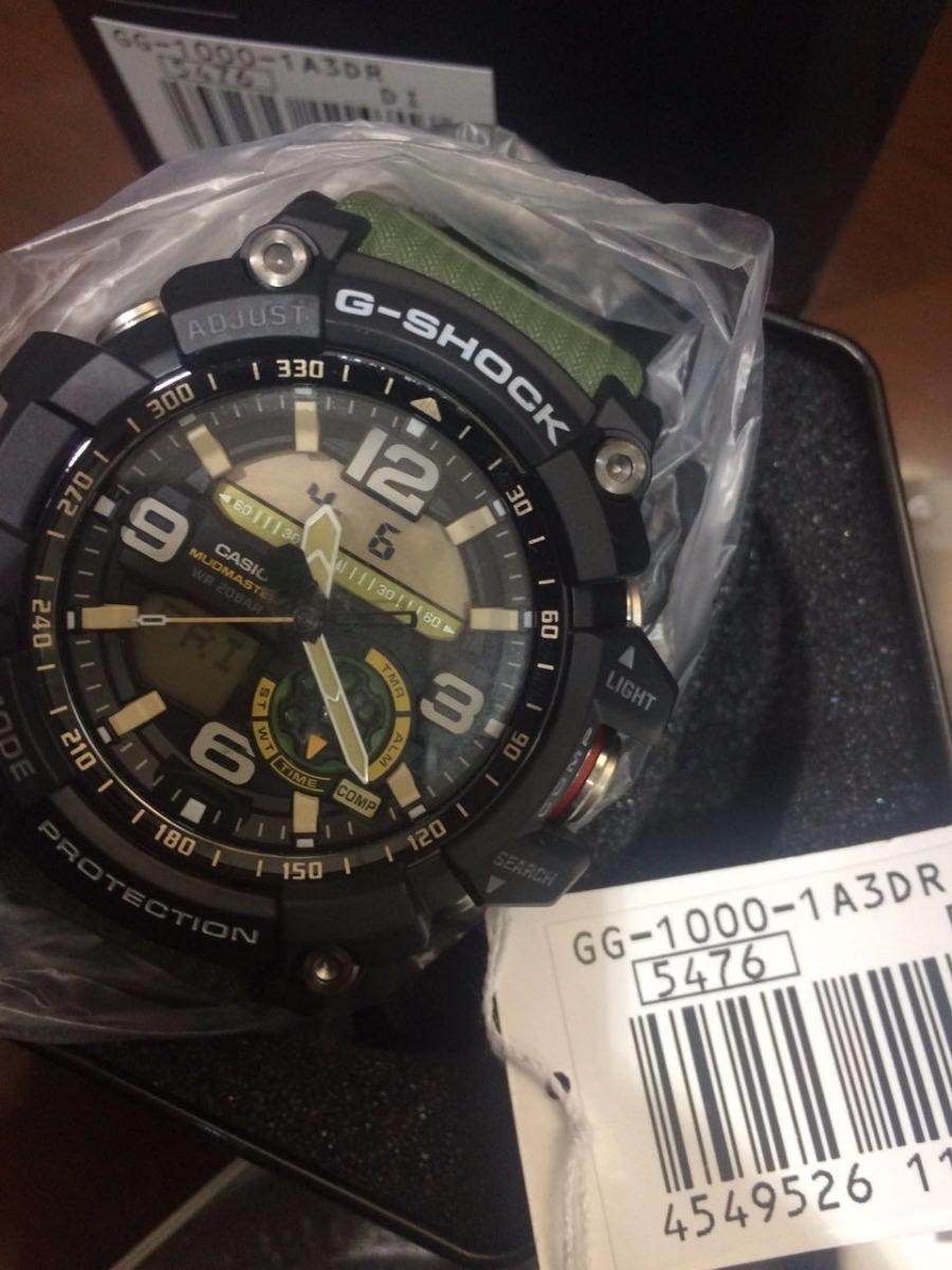 d4ef32cfad9 relógio casio g-shock gg-1000 1a3 mudmaster 12x s juros. Carregando zoom.