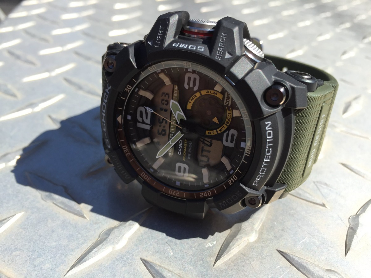 d5916284a2e relógio casio g shock gg 1000-1a3 verde 100% original. Carregando zoom.
