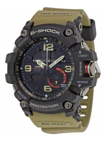 relógio casio g shock gg 1000-1a5 cor caqui