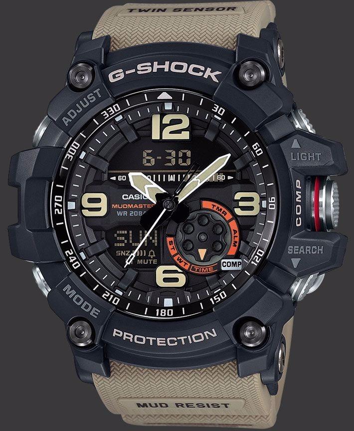 de1df3fb410 relógio casio g-shock gg-1000-1a5 mudmaster gg1000. Carregando zoom.