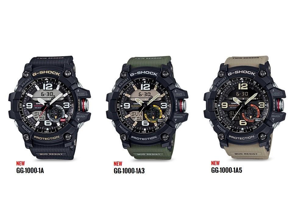 3bc3b51f6cc relógio casio g-shock gg-1000 mudmaster todas as cores. Carregando zoom.