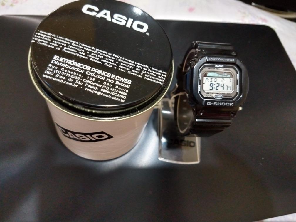 7d9ad7e8b22 Relógio Casio G-shock Glx-5600-1dr (original) E Garantia - R  398