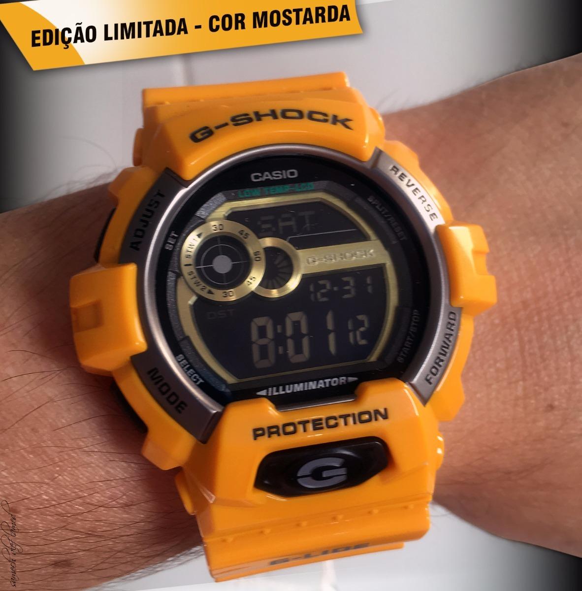 631b95fb1a4 Relógio Casio G-shock Glx-8900-9dr - R  529