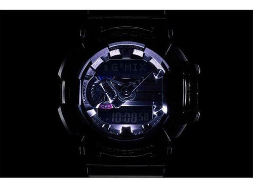 relógio casio g-shock g'mix gba-400-1adr bluetooth