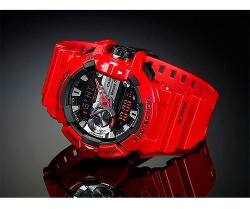 relógio casio g-shock g'mix gba-400-4adr bluetooth