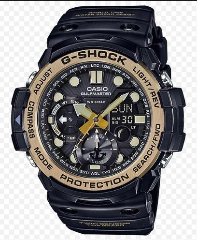 48d9145b720 Relogio Casio G-shock Gn-1000gb-1a Gulfmaster Gn-1000 Em S.p - R ...