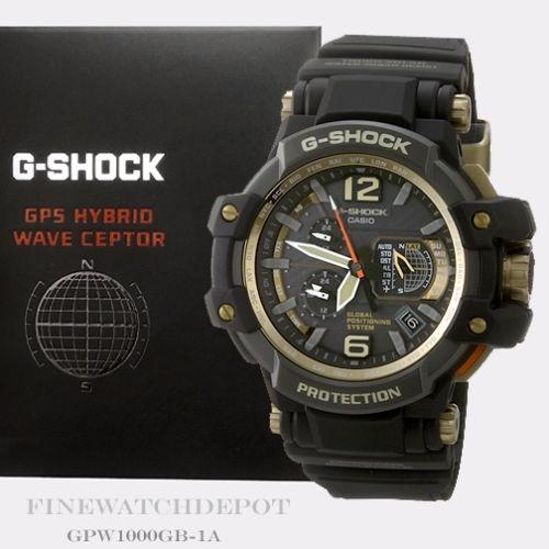 2305feac7b4 Relogio Casio G Shock Gpw-1000gb-1a Gravitymaster Gps Hybrid - R ...