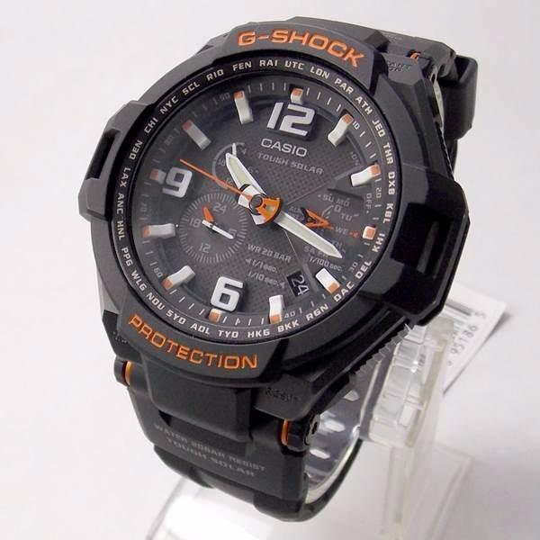 486add1bbf6 Relógio Casio G-shock Gravity Defier Bateria Solar G-1400-1a - R ...