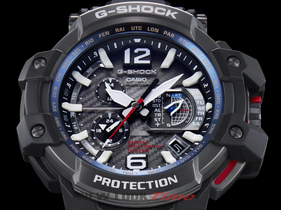 7278fd0c1e4 relógio casio g-shock gravitymaster gps híbrido gpw-1000-1ad. Carregando  zoom.