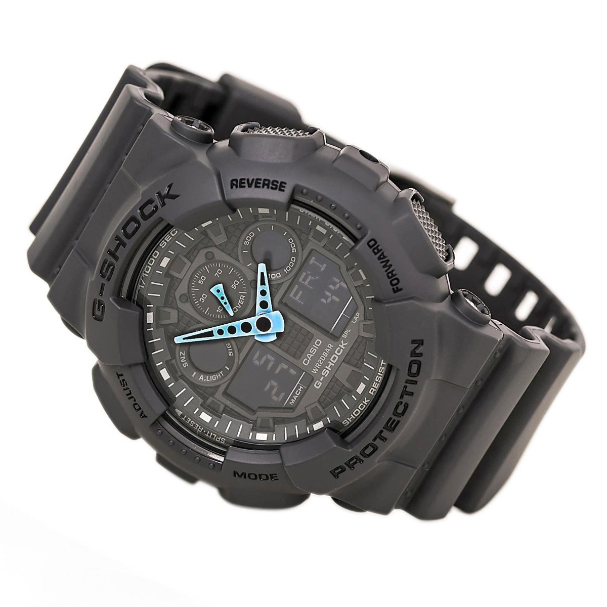ed8a0f5a1fc relógio casio g-shock grey ga100c-8a original eua. Carregando zoom.