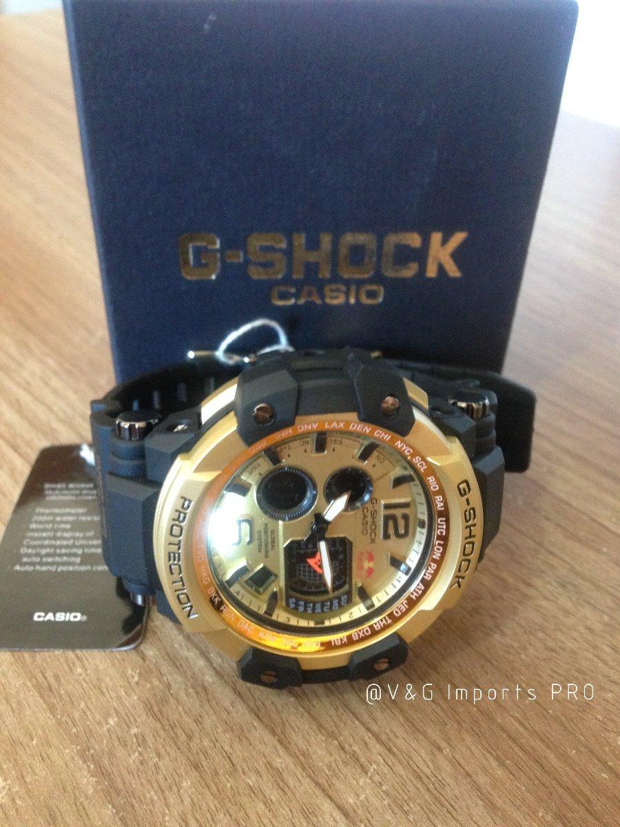 d6fd6557ae5 relogio casio g shock gshock red bull digital + caixa novo. Carregando zoom.
