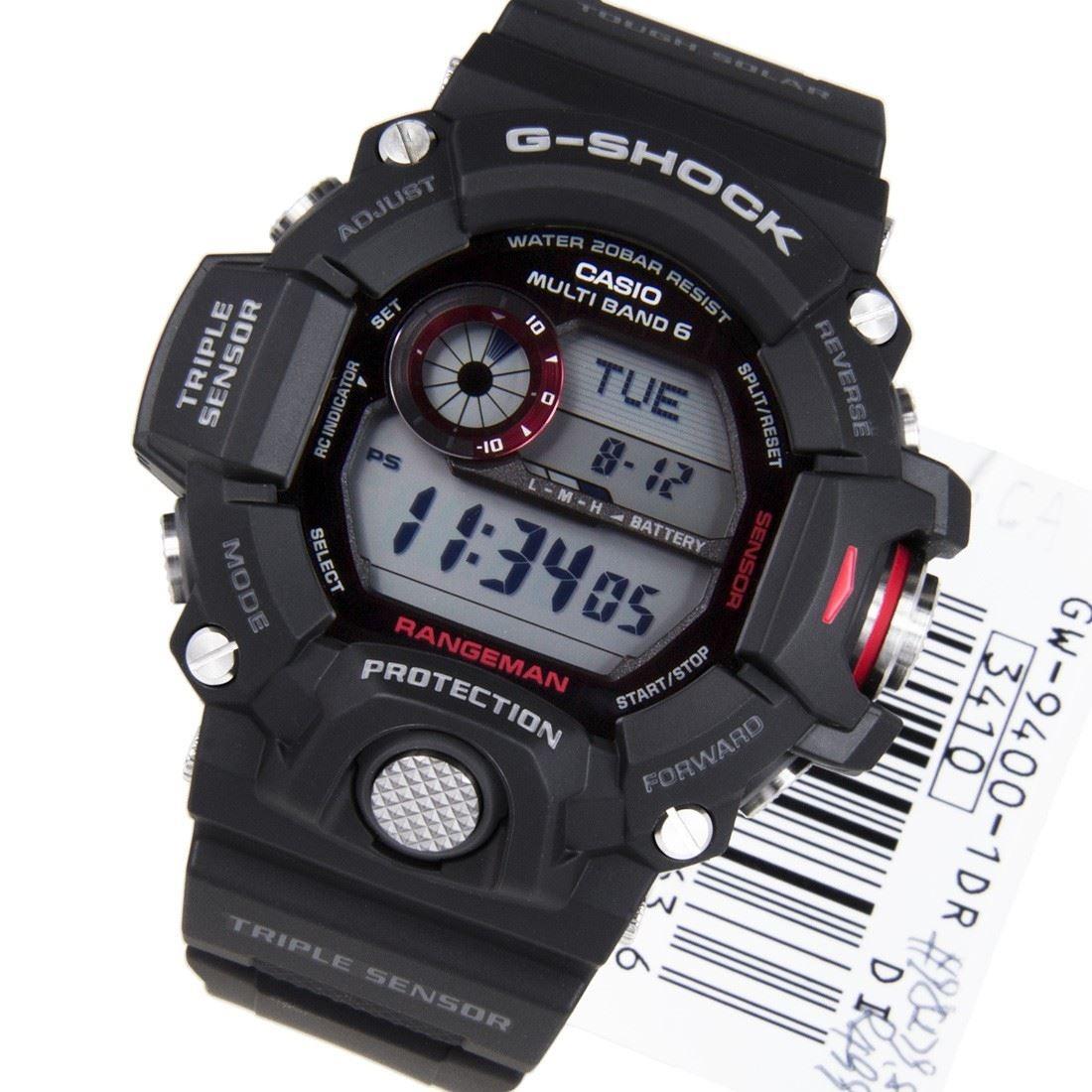 e432ad26191 Relógio Casio G-shock Gw-9400-1dr Preto Rangeman Gw9400 - R  1.290 ...