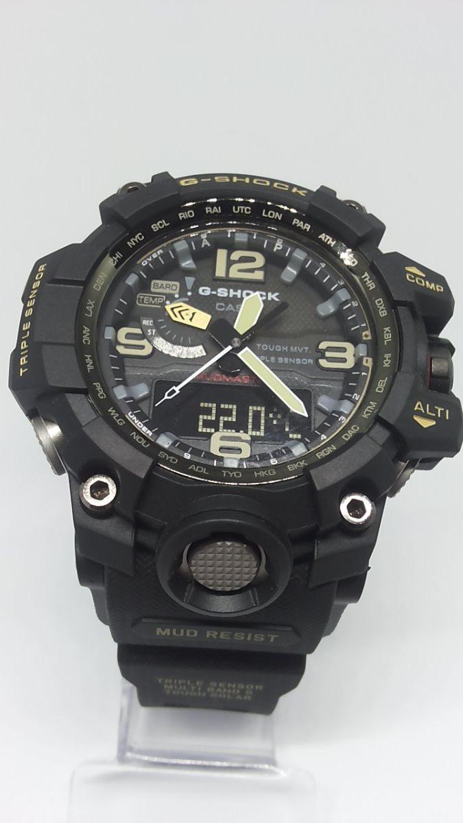 7eb46862011 relógio casio g shock gwg 1000 1a mudmaster pulseira preta. Carregando zoom.