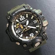 ae2a25bae2c Relógio Casio G Shock Gwg 1000-1a3 Verde Mudmaster Solar - R  2.800 ...