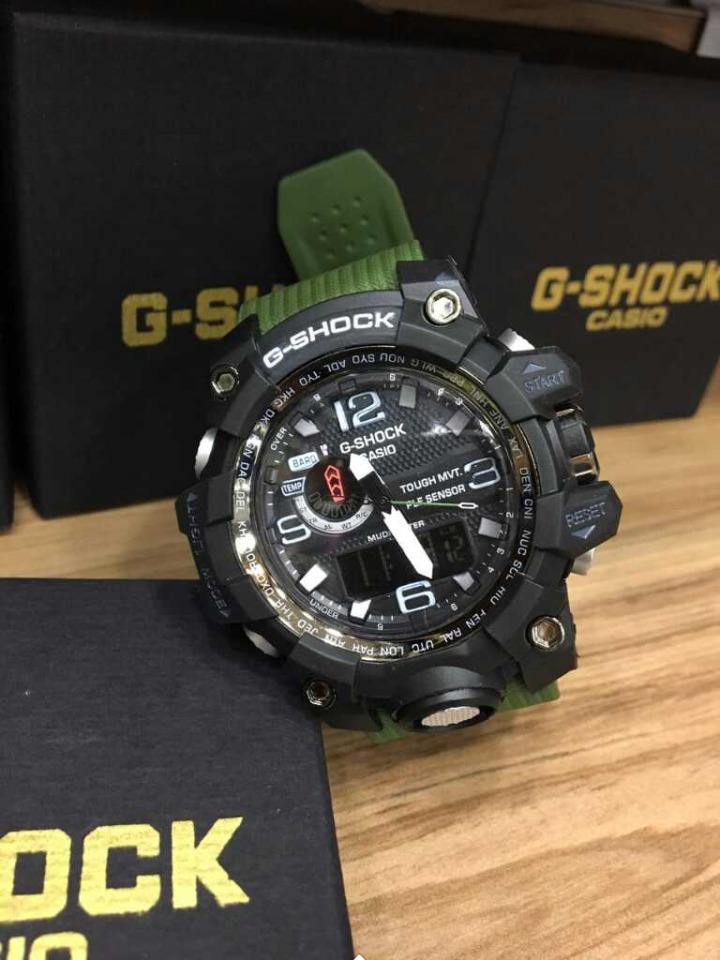 sitio oficial nuevo autentico Mejor precio Relógio Casio G-shock Gwg-1000 Militar Preto Com Verde Frete