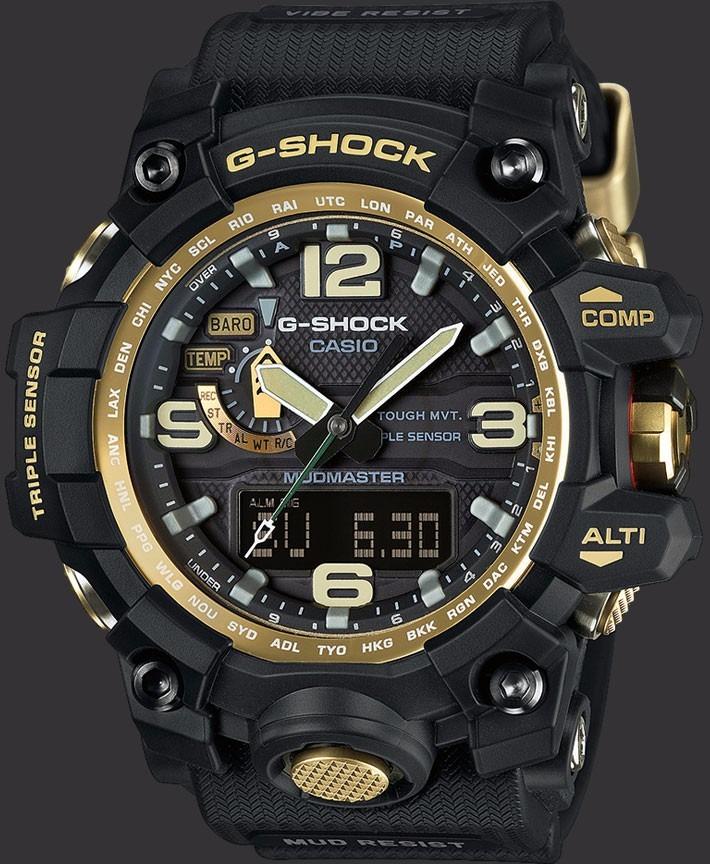 5c2538a87a6 Relogio Casio G Shock Gwg 1000gb-1a Mudmaster Novo Original - R ...