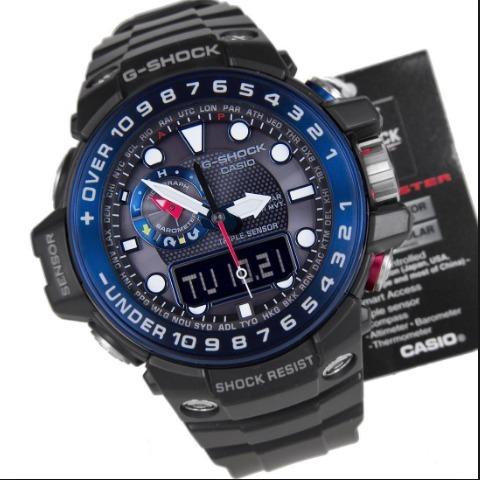 58fbdf5724f Relogio Casio G-shock Gwn-1000b-1b Gulfmaster Gwn-1000 !!! - R ...