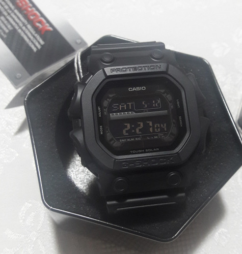 relógio casio g-shock gx-56bb-1dr tough solar original preto