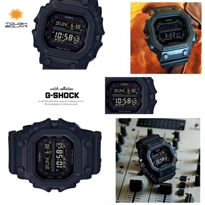 f76e8baec2c Relógio Casio G-shock Gx-56bb-1dr Tough Solar Original Preto - R  615
