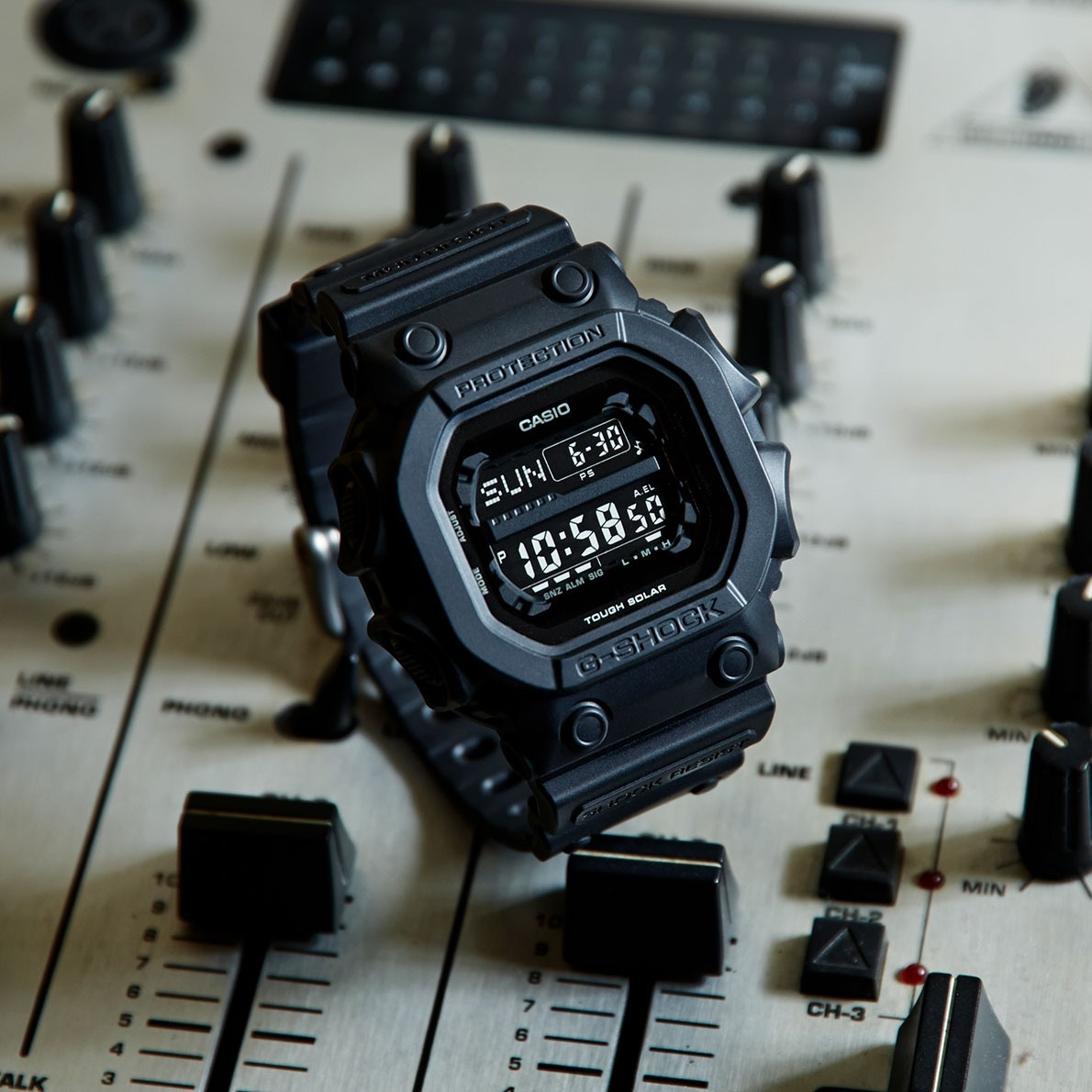 8d3309d15 relogio casio g-shock gx 56bb tough solar all black gx56. Carregando zoom.