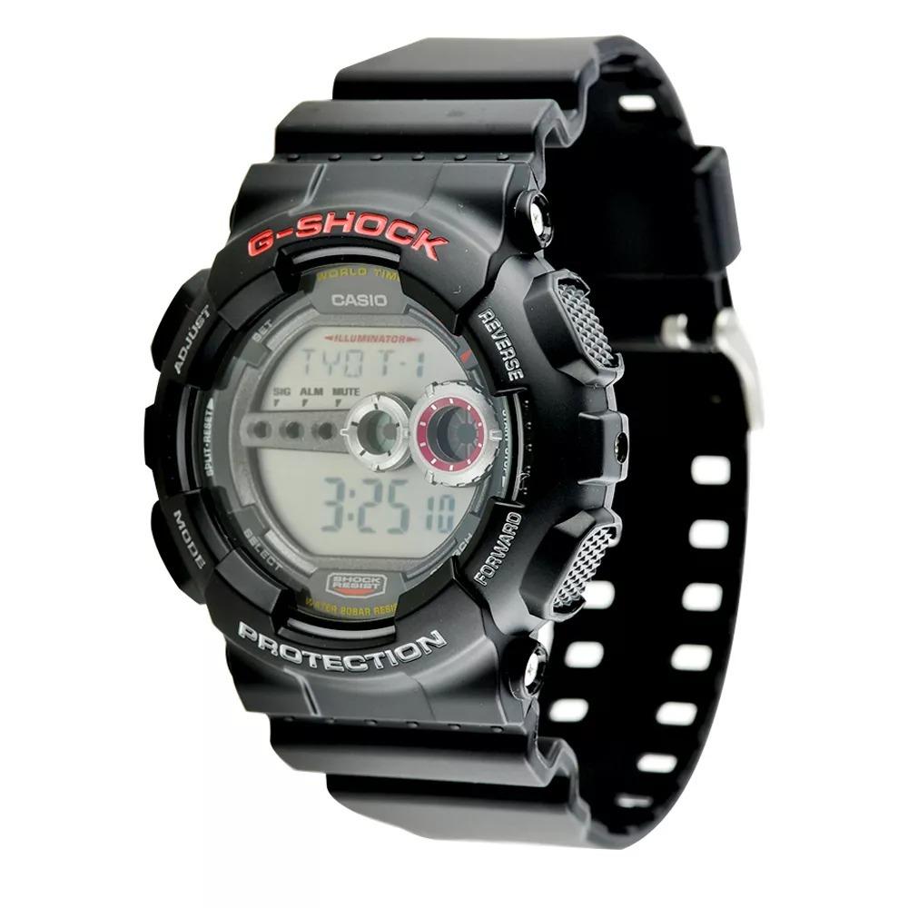ed11787915d relógio casio g-shock masculino digital esporte gd-100-1adr. Carregando zoom .