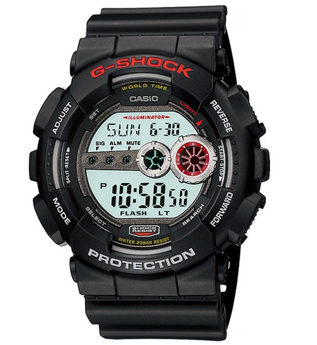 relógio casio g-shock masculino digital gd-100-1adr