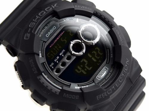 relógio casio g-shock masculino esportivo  gd-100-1bdr