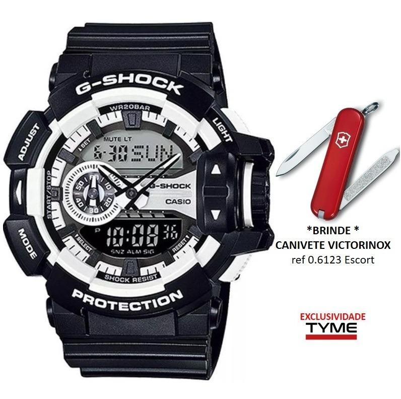 078feb4f3e0 Relógio Casio G-shock Masculino Ga-400-1adr + Brinde C  Nfe - R  579 ...