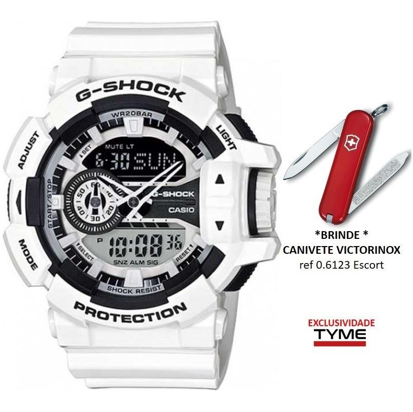 21d015702fb Relógio Casio G-shock Masculino Ga-400-7adr + Brinde C  Nfe - R  579 ...