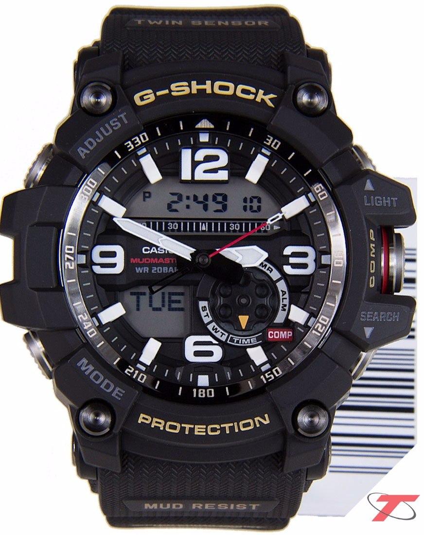 23ece181d31 relogio casio g-shock masculino mudmaster gg-1000gb-1adr. Carregando zoom.