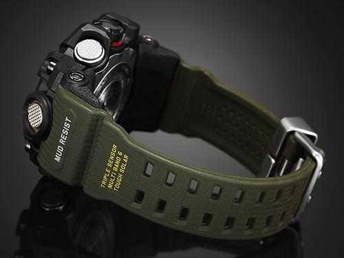 relógio casio g-shock masculino mudmaster gwg-1000-1a3dr