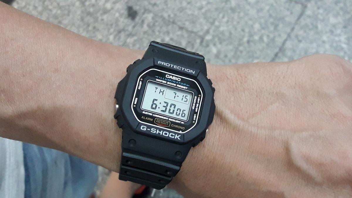 3f49172b09c Relógio Casio G-shock - Mod  Dw-5600e-1vdf - Nf + Garantia - R  378 ...