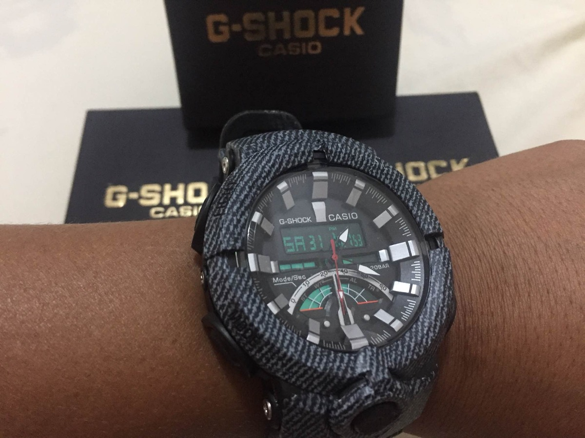 1122d9c3f1a relógio casio g shock modelo 2018 jeans promoção. Carregando zoom.