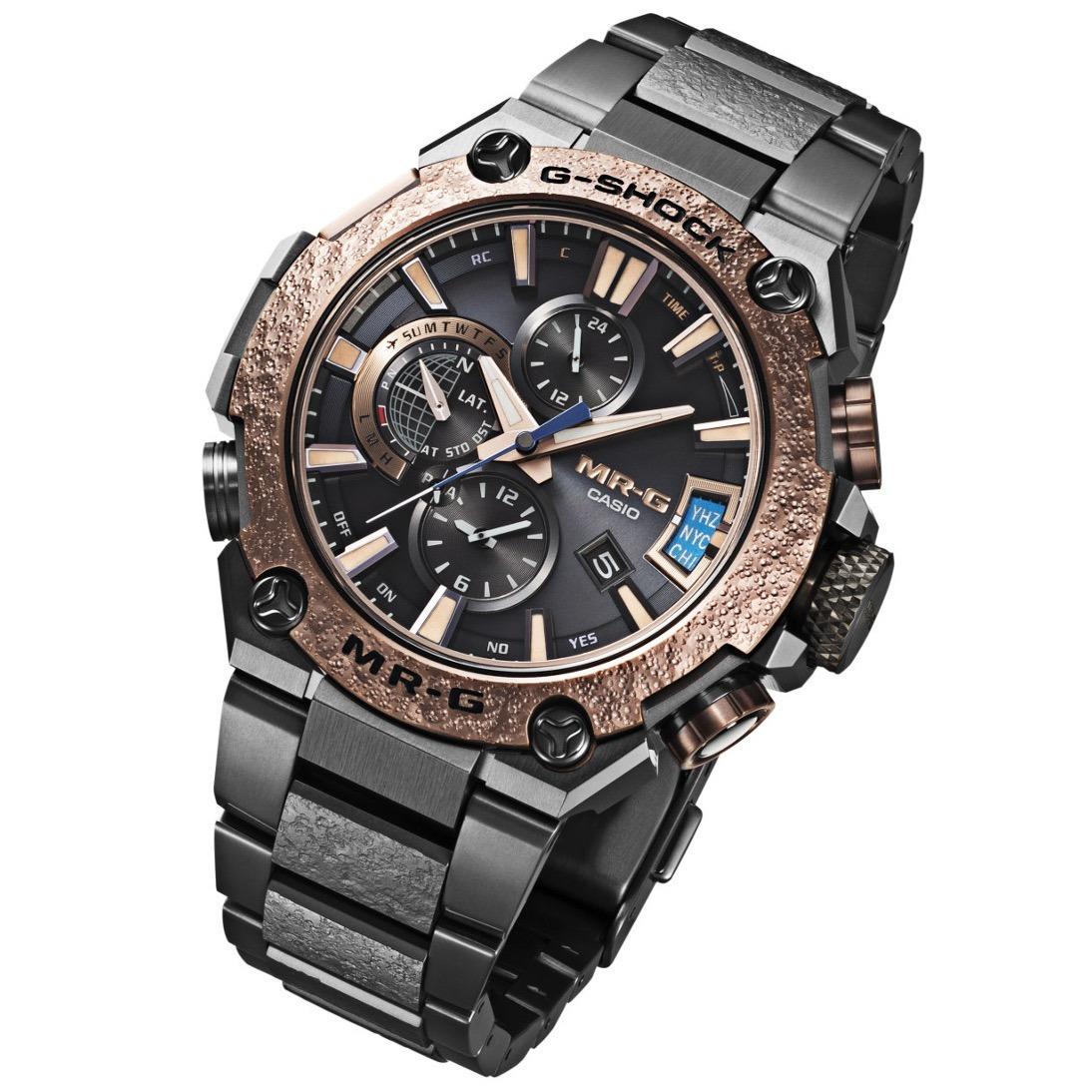 4376c7fffbf relogio casio g-shock mr-g basel limited edition titanium. Carregando zoom.