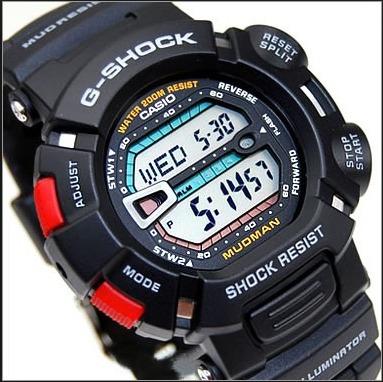 9bf0d319e88 Relógio Casio G-shock Mudman G9000-1v Preto Novo E Original - R  468 ...