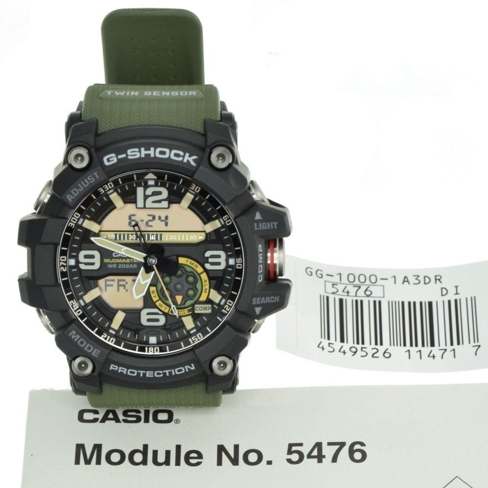 d13e7bbb8dd relógio casio g-shock mudmaster gg-1000-1a3dr 12x s juros. Carregando zoom.