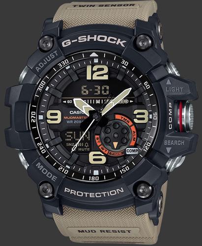 relógio casio g-shock mudmaster gg-1000-1a5dr 12x s juros nf